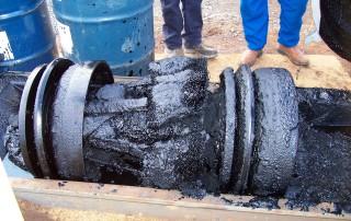 Black Powder removal