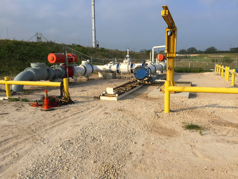 pipeline pigging operational support