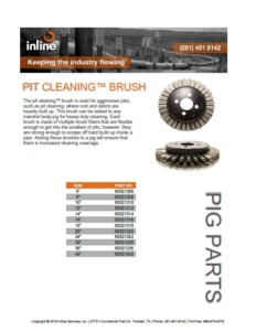Pit Cleaning Brush