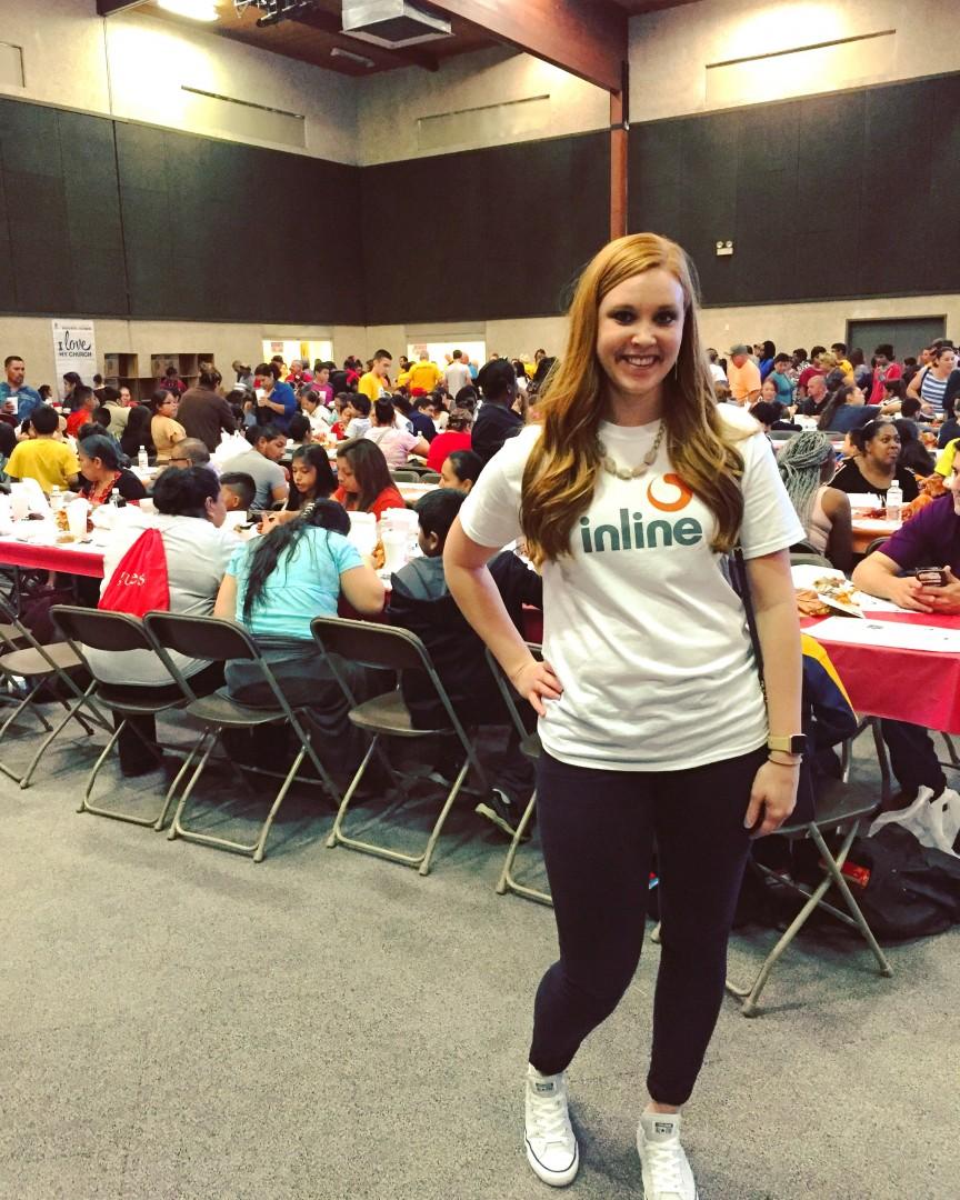 Inline Sponsors & Volunteers at Local Events