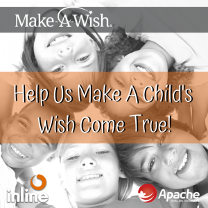Inline Supports Apache's Make A Wish Foundation Fundraiser
