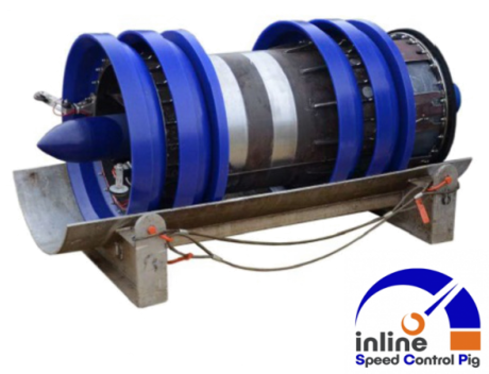 Inline Services Successfully Launches New 1.5D Capable Speed Control Pig (SCP)