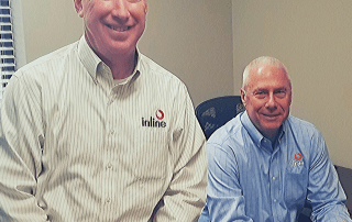 Phil Morrison, Inline CEO and Bryan McDonald, Inline COO